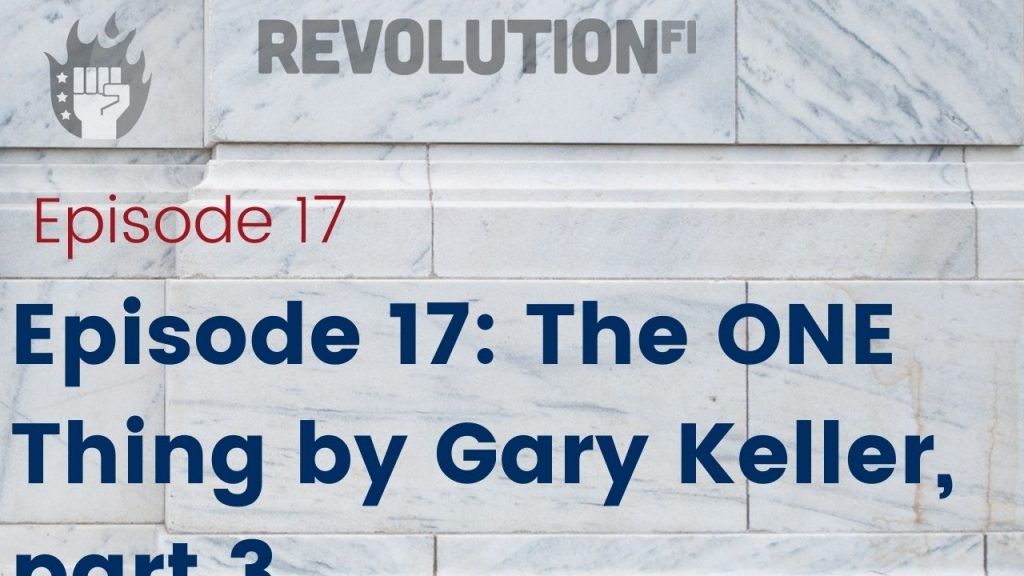 The ONE Thing by Gary Keller part 3